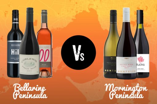 Wines from Bellarine Peninsula Wineries & Mornington Peninsula Wineries