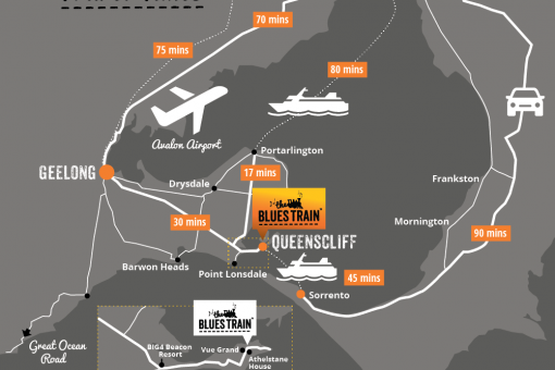 Getting from Melbourne to Queenscliff
